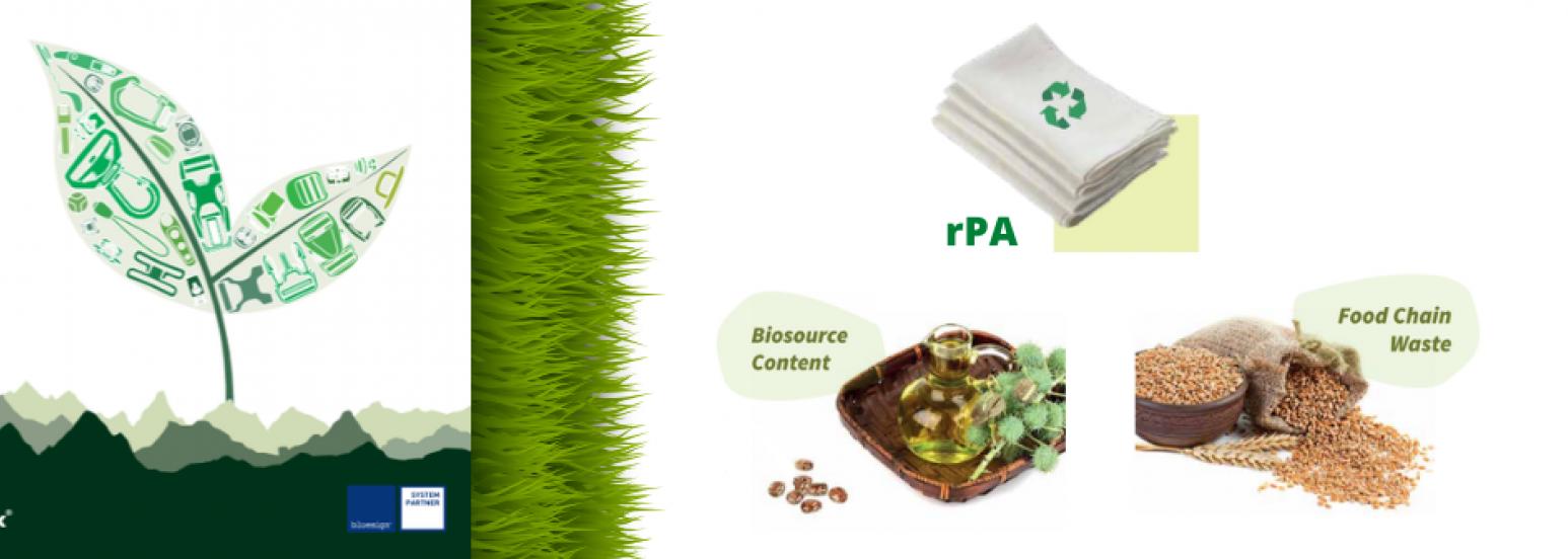 Duraflex materials rPA grainy botanic